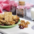 Stock Photo: Muesli Bars