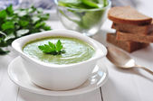 Spinach soup — Stock Photo