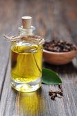 Oil of cloves — Stock Photo