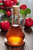 Apple cider vinegar — 图库照片