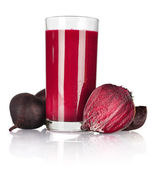 Beet vegetable juice — Stock Photo