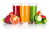 Fresh vegetable smoothie — Stock Photo