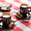 Two cups of espresso — Stock Photo #31416291