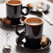 Two cups of espresso — Stock Photo #31416315