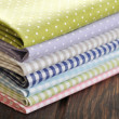 Heap of  fabrics — Stock Photo