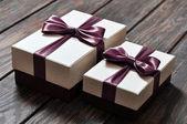 Cajas de regalo elegante — Foto de Stock