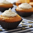 Pumpkin Muffins — Stock Photo