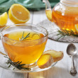 Ginger tea with lemon — Stock Photo #33821879
