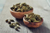 Dry cardamon seeds — Stock Photo