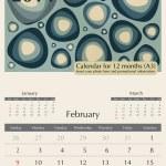 2014 Calendar — Stock Vector #34334193