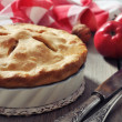 Homemade apple pie — Stock Photo