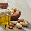 Peanut oil — Stock Photo