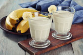 Banana smoothie — Stock Photo