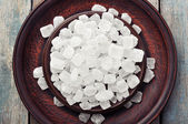 White candy sugar — Stock Photo
