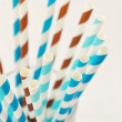 Striped drink straws — Stock Photo #39285017
