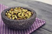 Dry cardamom seeds — Stock Photo