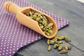 Dry cardamom seeds — Stock Photo