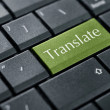 Translate button — Stock Photo