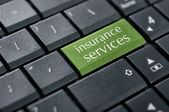 Concept of online insurance. — Stock Photo