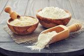 Rice flour — Stock Photo