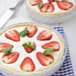Strawberry tart — Stock Photo #41234373