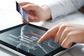 Conceito de pagamento on-line — Fotografia Stock