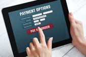Online-payment-konzept — Stockfoto