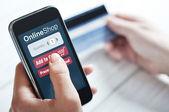 Internet shopping concept — Stock Photo