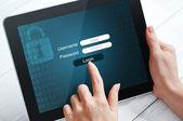 Data protection concept — Stock Photo