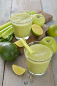 Green smoothie — Stockfoto