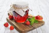 Confiture de fraises — Photo