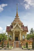 Chalong tample, phuket, thajsko — Stock fotografie