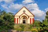 Small church on a hill on sunny summer day — Stock Photo