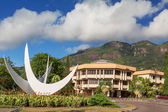 Bicentennial Monument, Victoria Seychelles, Seychelles — Stock Photo