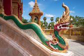 Element of Thai mythologycal character Golden Naga (snake), as p — Stockfoto