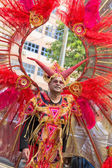 VICTORIA, SEYCHELLES - April 26, 2014:  at the Carnival Intern — Stock Photo