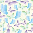 Royalty-Free Stock Vector Image: Seamless abstract butterfly pattern vector