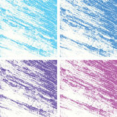 Set of color abstract background vector — Wektor stockowy