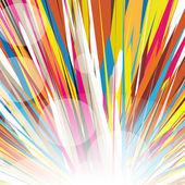 Rainbow vortex vector background — Stock Vector
