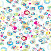 从颜色的圆形矢量抽象背景 — 图库矢量图片