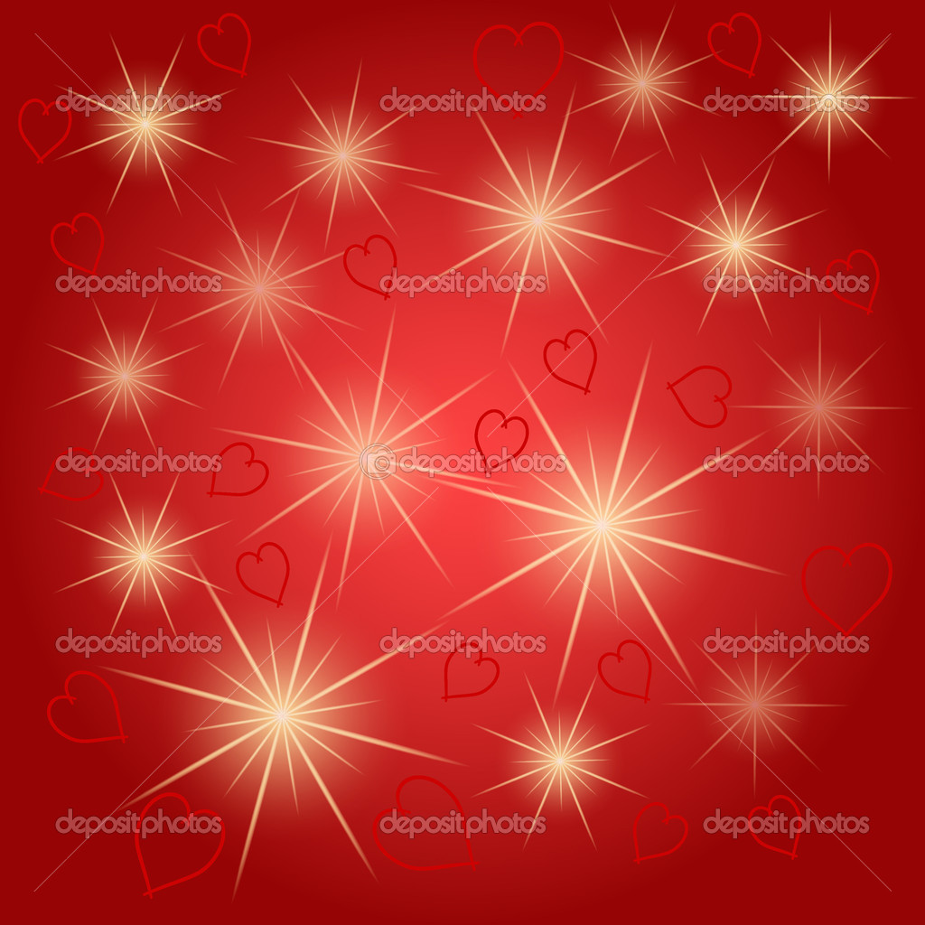 Seamless heart vector pattern background — Stock Vector #18829817