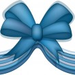 Bow with a ribbon — Stock Vector