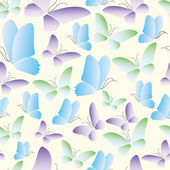 Abstract butterfly background — Stock Vector