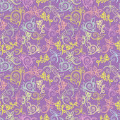 Ornate floral seamless texture,endless pattern with flowers. Seamless pattern can be used for wallpaper,pattern fills,web page background,surface textures.you can easily change colors — Stock Vector