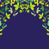 Abstract ornate floral  texture — Stock Vector