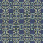 абстрактный круг витиеватые цветочные текстуры — Cтоковый вектор