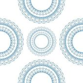 Circle ornament, pattern — Stock Photo