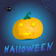 Vector scary halloween design illustration — Stock Photo