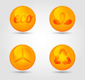 Vector set of glossy icons — Wektor stockowy