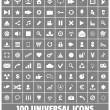Web, Business, Social, Multimedia, Medical, Ecology Vector Icons Set — Stock Vector #29999281